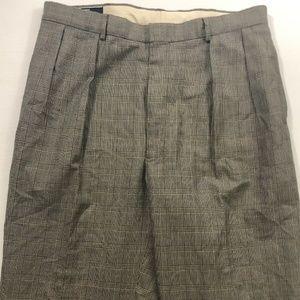 Ralph Lauren Dress Pants Slacks Checkered 36x34